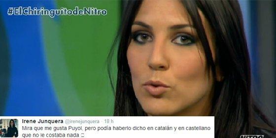 El orgasmo de Irene Junquera
