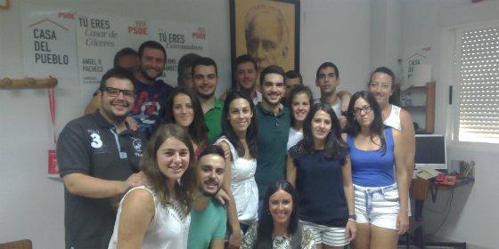 Juventudes Socialistas de Casar de Cáceres renueva su Ejecutiva Local