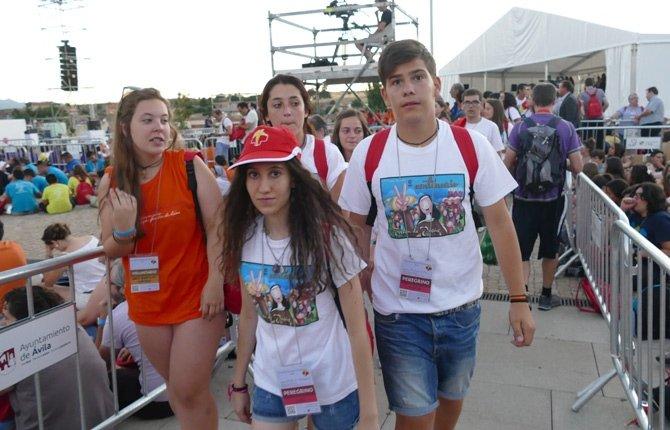 Jóvenes Cristianos con Teresa de Jesús