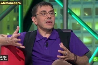 """La indecencia de Monedero: """"¿Cómo demonios se cae un edificio? Qué daño ha hecho el PP en Madrid"""""""