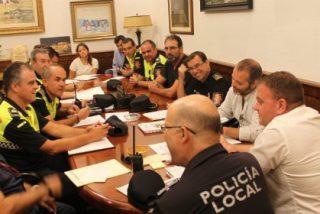 La Mesa de Seguridad de la Policía Local de Mérida analiza el dispositivo para la Feria