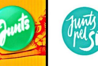 Los independentistas exigen a la independentista TV3 retirar su logo por parecerse al de 'Junts pel Sí'