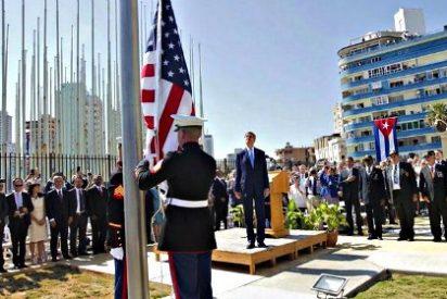 54 años después de ser arriada, la bandera de EEUU vuelve a ondear en la embajada de La Habana
