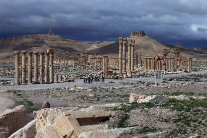 Los terroristas del Estado Islámico dinamitan la histórica ciudad de Palmira en Siria