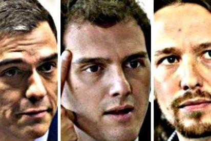 El PSOE mima a Albert Rivera pensando ya en un pacto con Ciudadanos tras las elecciones generales