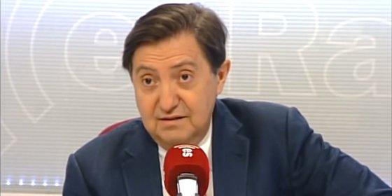 """Losantos sobre la carta de González en El País: """"Estaba pidiendo un canal de televisión para Cebrián para que luego lo disfrute la gentuza de la secta y de Cuatro"""""""