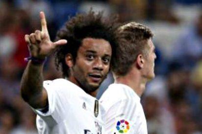 Marcelo le da luz y marcha al Real Madrid de Benítez