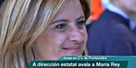 Ciudadanos destituye a su única concejal de Pontevedra por respaldar al BNG