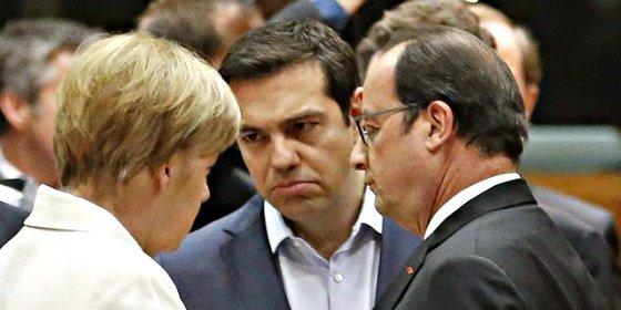 El Eurogrupo da luz verde al tercer rescate a la Grecia de Tsipras