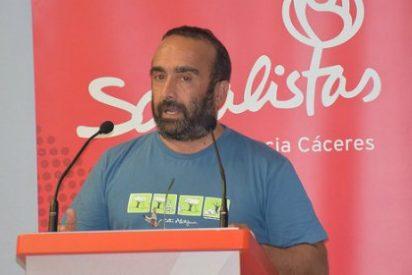 """Miguel Á. Morales: """"No permitiremos jamás que nadie ningunee a Extremadura"""""""