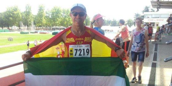 Miguel Periañez del Capex, subcampeón del mundo en los 10 km marcha
