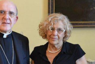 Manuela Carmena no acudirá a la misa de La Paloma