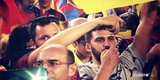 """El Barça intenta vender a la UEFA """"la realidad social catalana"""" y la """"integración de las esteladas en el club"""""""