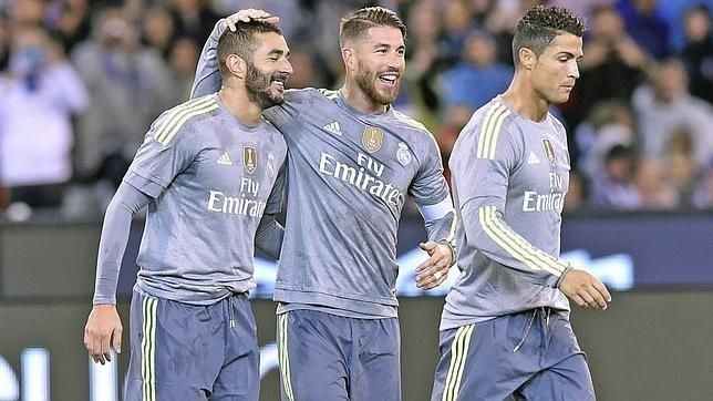 Ramos, Cristiano, Benzema, Pepe y Coentrão no viajan a Noruega