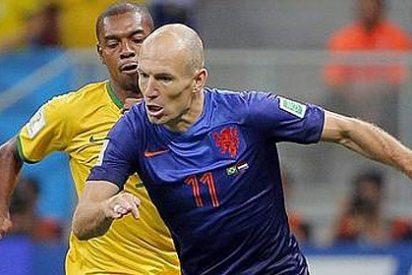 El Manchester prepara 100 millones para Robben