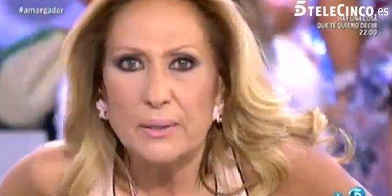 """El fulminante despido de Rosa Benito en """"Sálvame"""" pasa factura a Telecinco"""