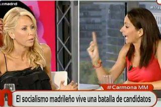 Montse Suárez ata en corto a la 'podemita' Sara Solomando: