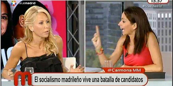 """Montse Suárez ata en corto a la 'podemita' Sara Solomando: """"El okupa, querida, es un usurpador, a ver si llamamos a las cosas por su nombre"""""""