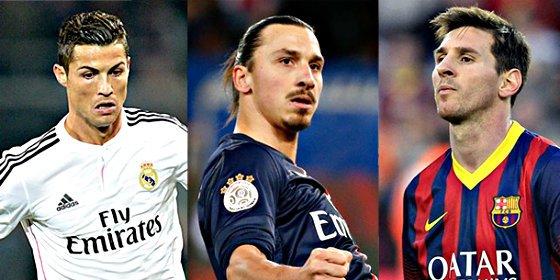 Messi, Suárez y Cristiano, candidatos a mejor jugador UEFA