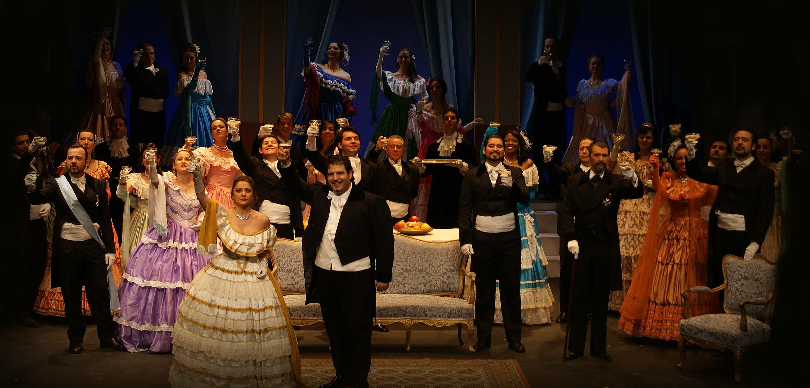 'La traviata' en La Granja