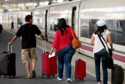 Las cuatro jornadas de huelga en Renfe aumentan un 27% las búsquedas en bus y avión