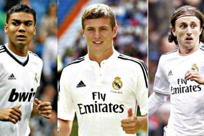 Las tres 'fieras' de Rafa Benítez para que el Real Madrid robe la posesión al Bayern de Guardiola