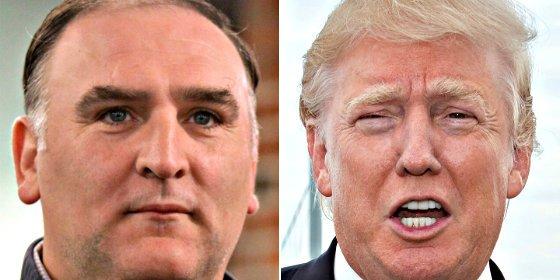 Después de insultar a los mexicanos, el multimillonario Donald Trump demanda al chef José Andrés