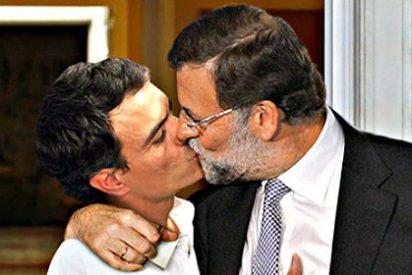 La imposible 'gran coalición' entre PP y PSOE para gobernar España y sacarla del hoyo