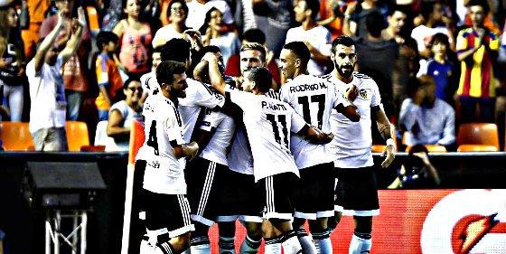 El Valencia gana en la ida al AS Mónaco y pone rumbo a la Champions League