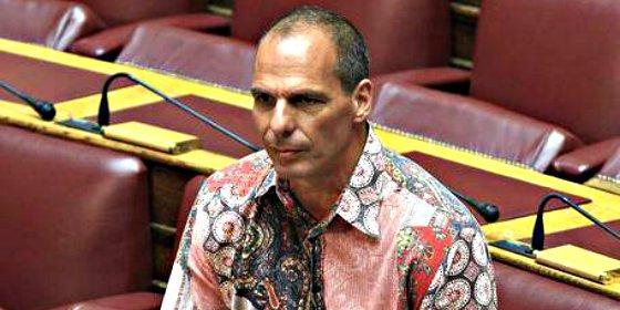 Esta rococó camisa de Varoufakis está levantando pasiones en Twitter
