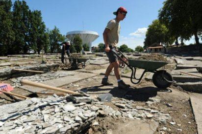 Voluntarios restauran el cementerio judío más antiguo de Francia