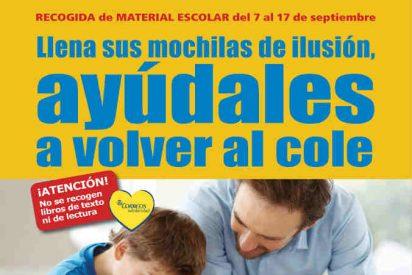 """Mensajeros de la Paz recibe más de 9 toneladas de material escolar recogidas en la campaña """"Ayúdales a volver al cole, llena sus mochilas de ilusión"""" a través de las 2.400 oficinas de Correos de toda España"""