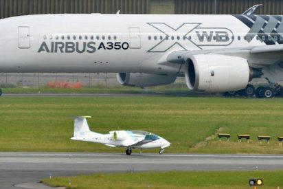 Airbus E-Fan, la electricidad toma el aire