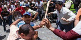 La emboscada chavista en la que muere un seguidor de Leopoldo López