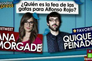 """Alfonso Rojo: """"La 'fea con gafas' a la que me refería es Quique Peinado; Morgade y Pedroche están rebuenas"""""""