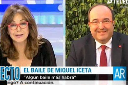 """La 'amenaza' del candidato del PSC: """"En vez de mitin final, habrá baile con Iceta"""""""