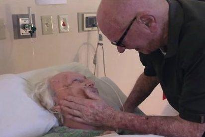La tierna canción de amor del anciano de 93 años a su esposa moribunda