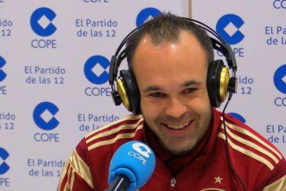 """Andres Iniesta: """"Los pitos a Piqué nos perjudican a todos"""""""