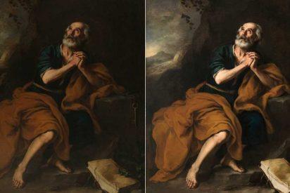 El Prado restaura 'San Pedro penitente de los Venerables'