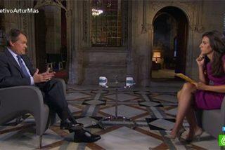 """A Artur Mas solo le gustan las entrevistas en TV3: """"En televisiones de ámbito estatal nunca he podido explicar las ventajas de la independencia"""""""