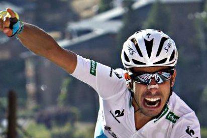 Fabio Aru revienta a Dumoulin en la penultima etapa y es el virtual ganador de la Vuelta a España