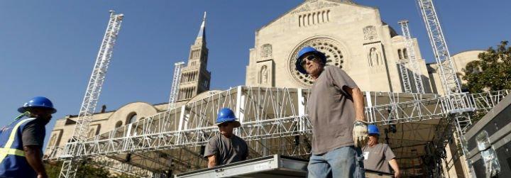 El papa canonizará a Junípero Serra ante 25.000 personas en Washington