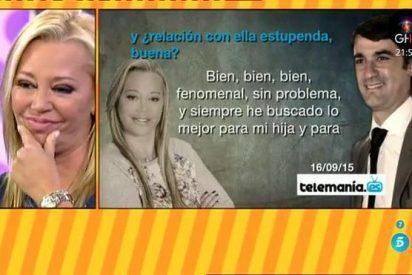 El cabreo de Belén Esteban tras la entrevista de Jesulín de Ubrique con Bertín Osborne