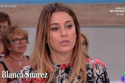 """Blanca Suárez las pasa 'canutas' en 'Amigas y conocidas': """"Te tenía mucha manía"""""""