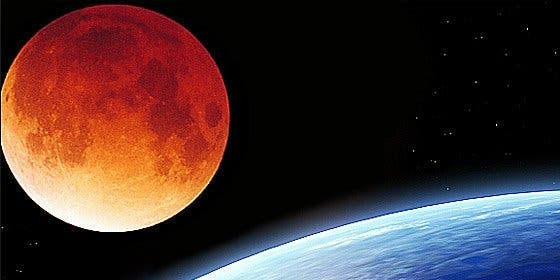 Mucho ojo con la extraña 'superluna de sangre': consejos en vídeo de la NASA