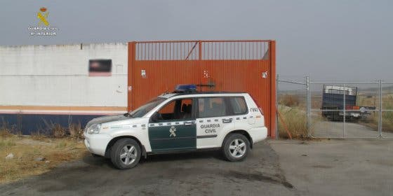 La Guardia Civil de Sevilla desarticula una organización dedicada al robo y venta de bombonas de gas