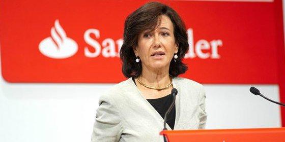 Ana Botín quiere poder elevar beneficio y pagar dividendo pese a la crisis