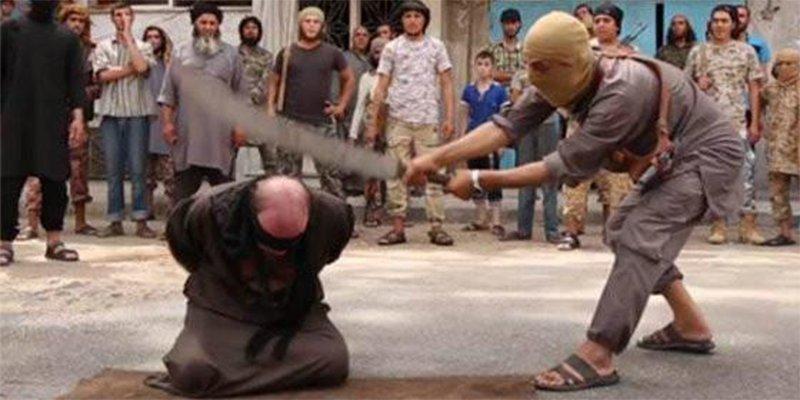 El brujo que es decapitado con una dantesca espada en nombre de Alá