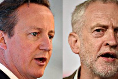 """La bienvenida de Cameron al nuevo líder laborista: """"Es una amenaza para la seguridad nacional"""""""