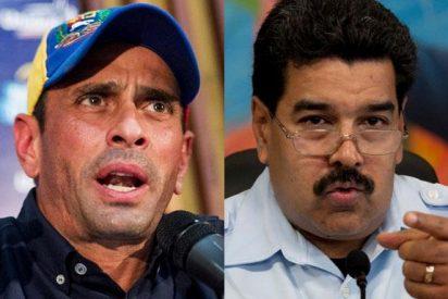 "Henrique Capriles: ""Escuchar a Maduro hablar de futuro es como escuchar a Hitler hablar de DDHH"""